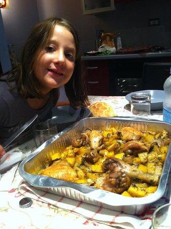 B&B Paisiello: Pollo con patate