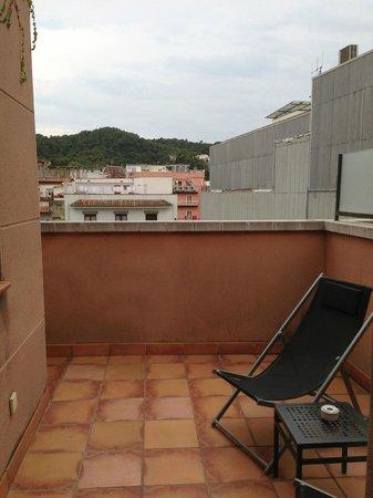 Vila de Tossa: Balcón