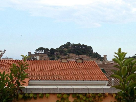 Vila de Tossa: Vista desde el tejado del hotel