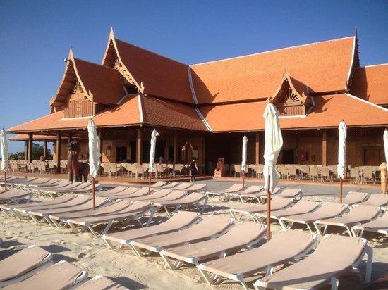 Siam Park: Beach & restaurant