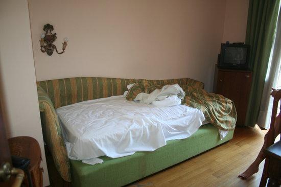 Park Hotel Villa Giustinian: Comme le propriétaire met en doute ma parole: voici leurs écrans plats LCD......