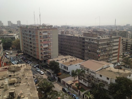 Hotel Alvalade: view from balcony