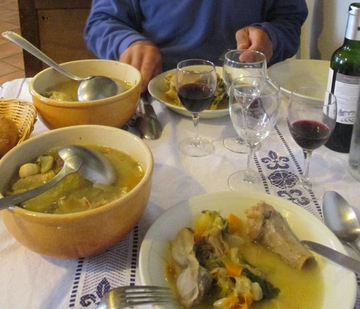 Restaurant l'Arregalet : garbure complète