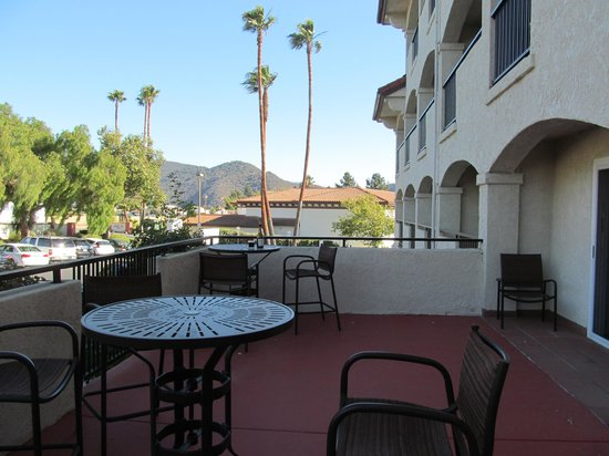 Santa Ynez Valley Marriott : Best balcony!