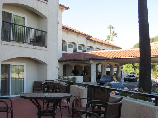 Santa Ynez Valley Marriott: Best balcony!