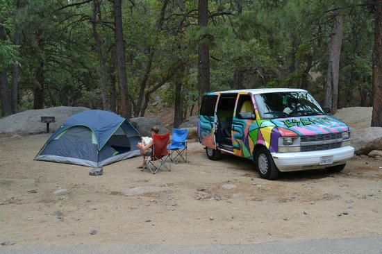 Hualapai Mountain Park: campsite #7