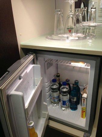 GOLD INN Adrema Hotel: Minibar (que no enfría)