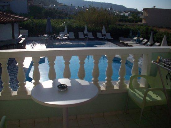 Ilios Studios: view from room 11