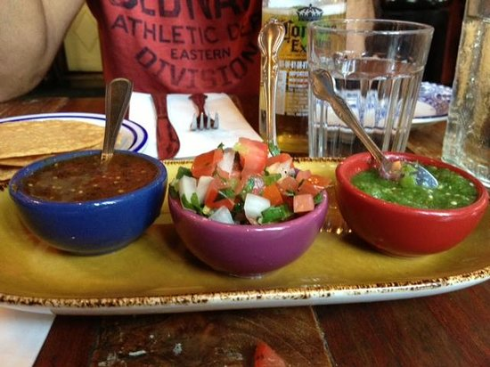 Chavela's: Trio of Salsas