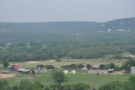 Montesino Ranch Studios : View of the ranch from Montesino Mountain