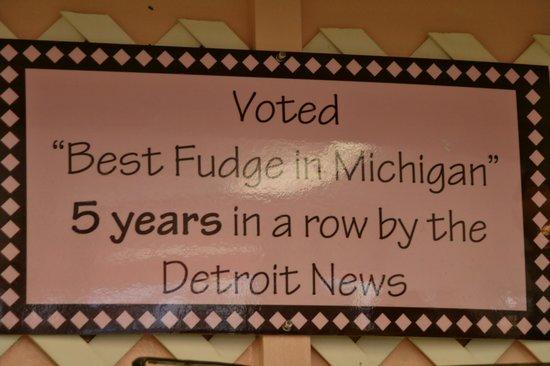 Ryba's Fudge Shops: Truth!