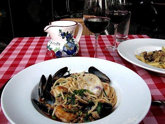 Ristorante a Mano: Seafood pasta