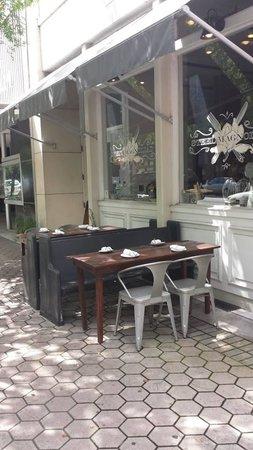 Steel Magnolias: front of restaurant