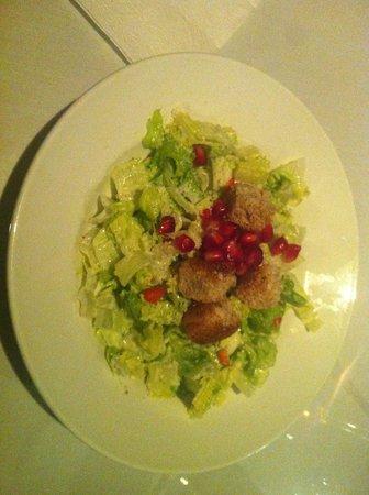 Orlando's Seafood Grill: pomegranate salad