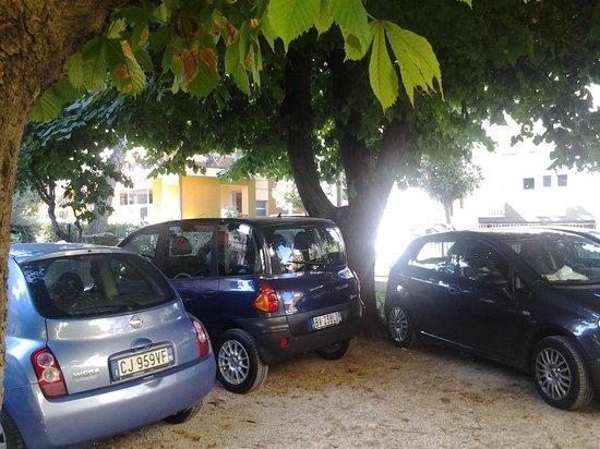 Hotel Argo B&B: il parcheggio all, ombra