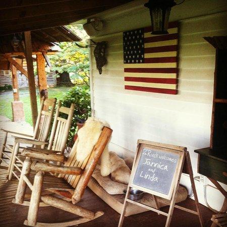 Seventy-four Ranch: The main house