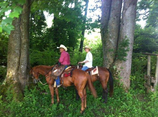Seventy-four Ranch: Riding