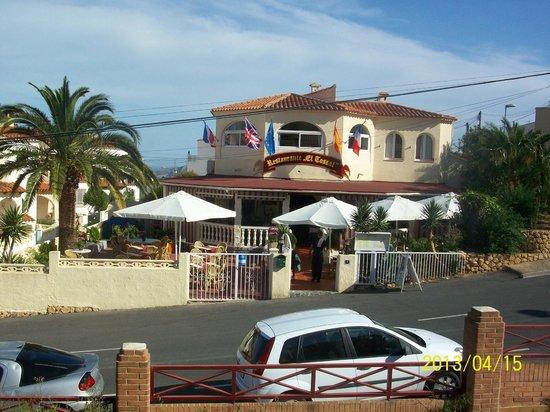 Restaurante El Tossal: voorkant restaurant