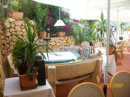 Restaurante El Tossal: sfeervol terras