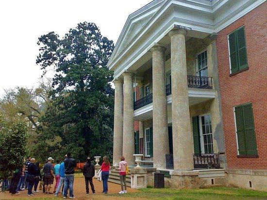 Natchez, MS: Melrose - dom właścicieli niewolników