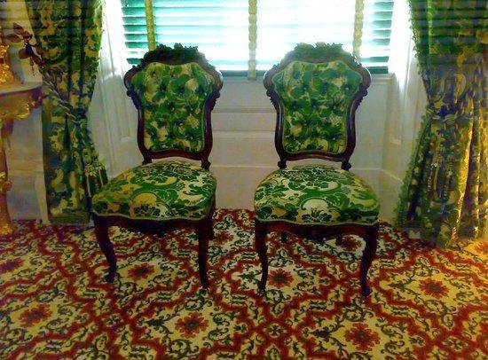 Natchez, MS: Melrose - wygodne krzesełka