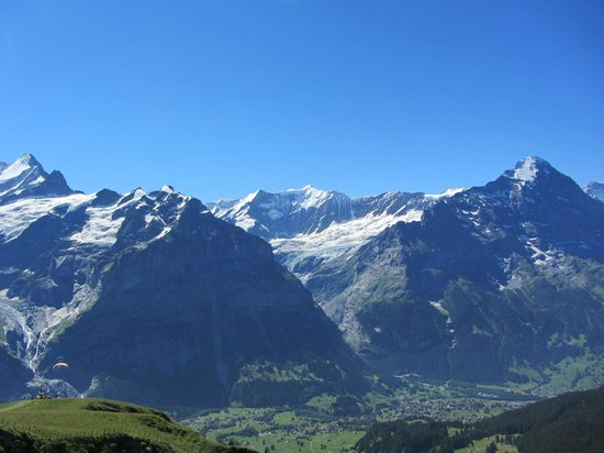 Grindelwald, Schweiz: The view from the way to Bachalpsee