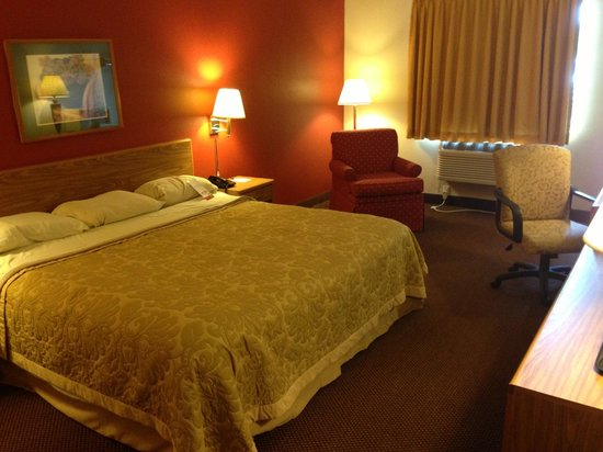 Super 8 Kokomo : Standard King Bed Room