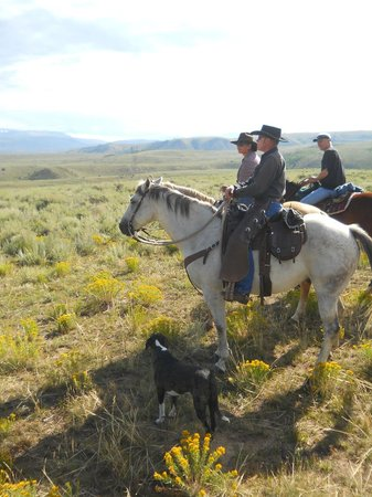 Rusty Spurr Ranch: Our Guides, Han, Maddie and Zoey!
