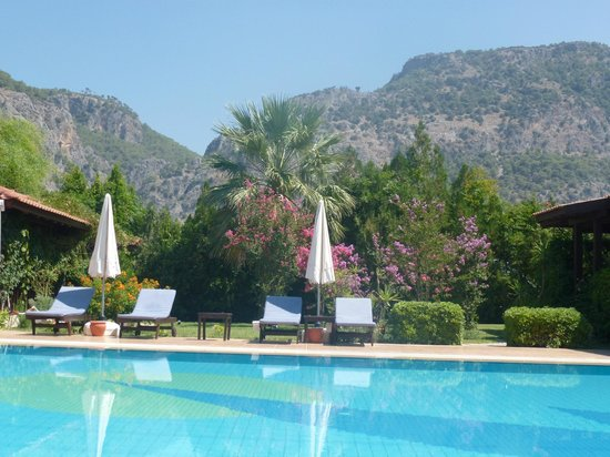 Efe Hotel Gocek: Pool was never busy!