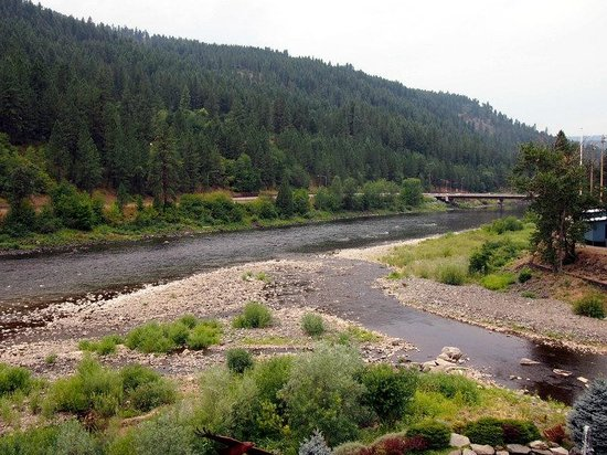 Best Western Lodge At River's Edge: Clearwater River
