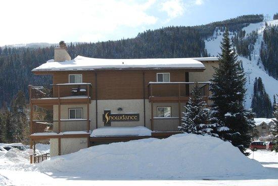 Snowdance Condominiums at Keystone: Building exterior
