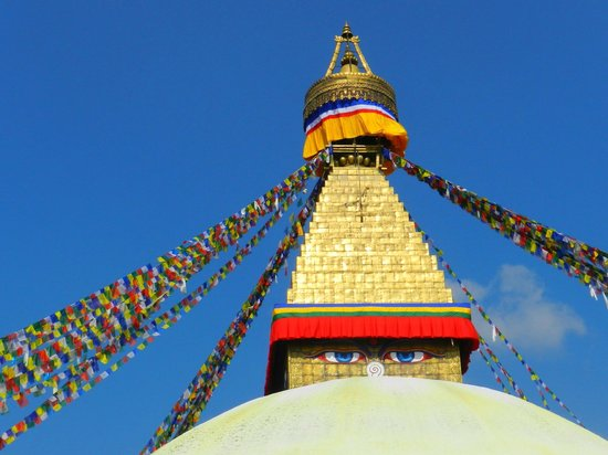 Hyatt Regency Kathmandu: parte superior Stupa