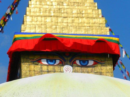 Hyatt Regency Kathmandu: ojos de la stupa