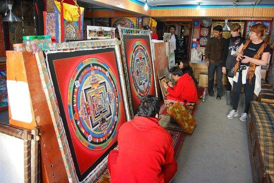 Hyatt Regency Kathmandu: escuela de mandalas