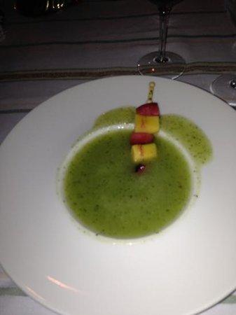 Les Jardins de la Medina : la soupe de melon