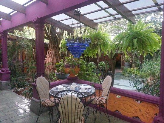 Corteza Amarilla Lodge: Outdoor Meals!