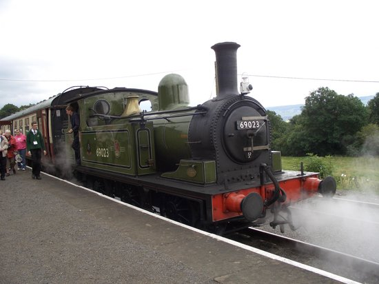 Wensleydale Railway : The steam train