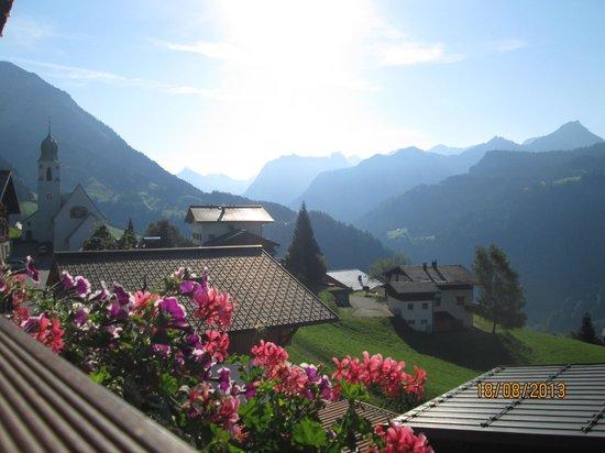 Das Schäfer: View from balcony