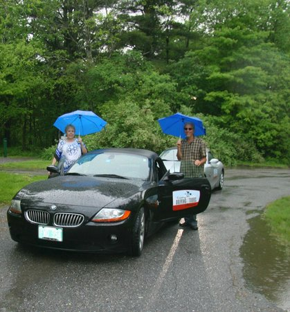 Country Driving Tours of Vermont: Rain doesn't dampen our fun!