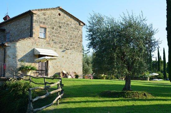 Agriturismo La Sovana: Entrance to rooms 16/17