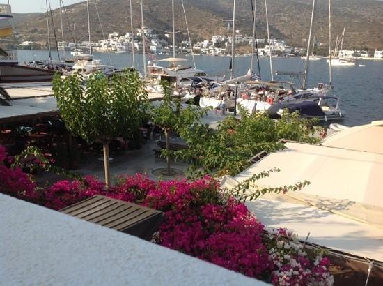 Hotel Minoa: Balcony View