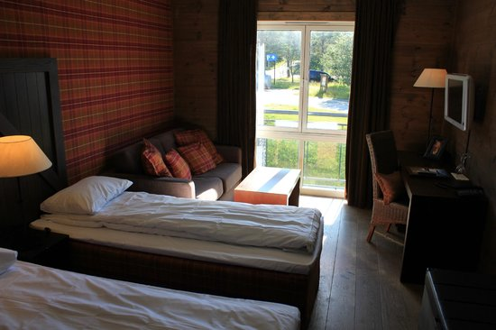 Vestlia Resort : Zimmer