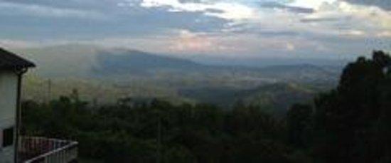 Big Lynn Lodge: View looking toward Marion, NC
