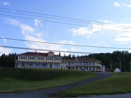 Hotel Motel Bon Accueil: La facade