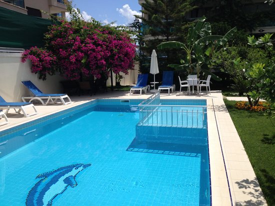 Orsmaris Boutique Hotel: one of the pools at the orsmaris