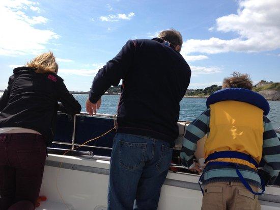 Sirius Charters: Line fishing on board Sirius