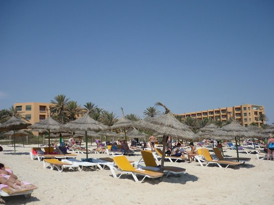 Hotel Vendome El Ksar Resort & Thalasso : Spiaggia