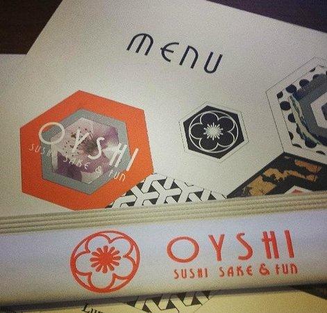 Oyshi Sushi: Oyshi Menu