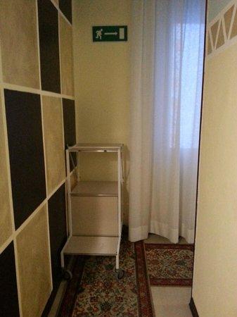 Hotel Corallo garni : corridoio