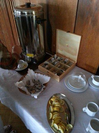 Hotel Panorama Krynica : Herbata na stołówce